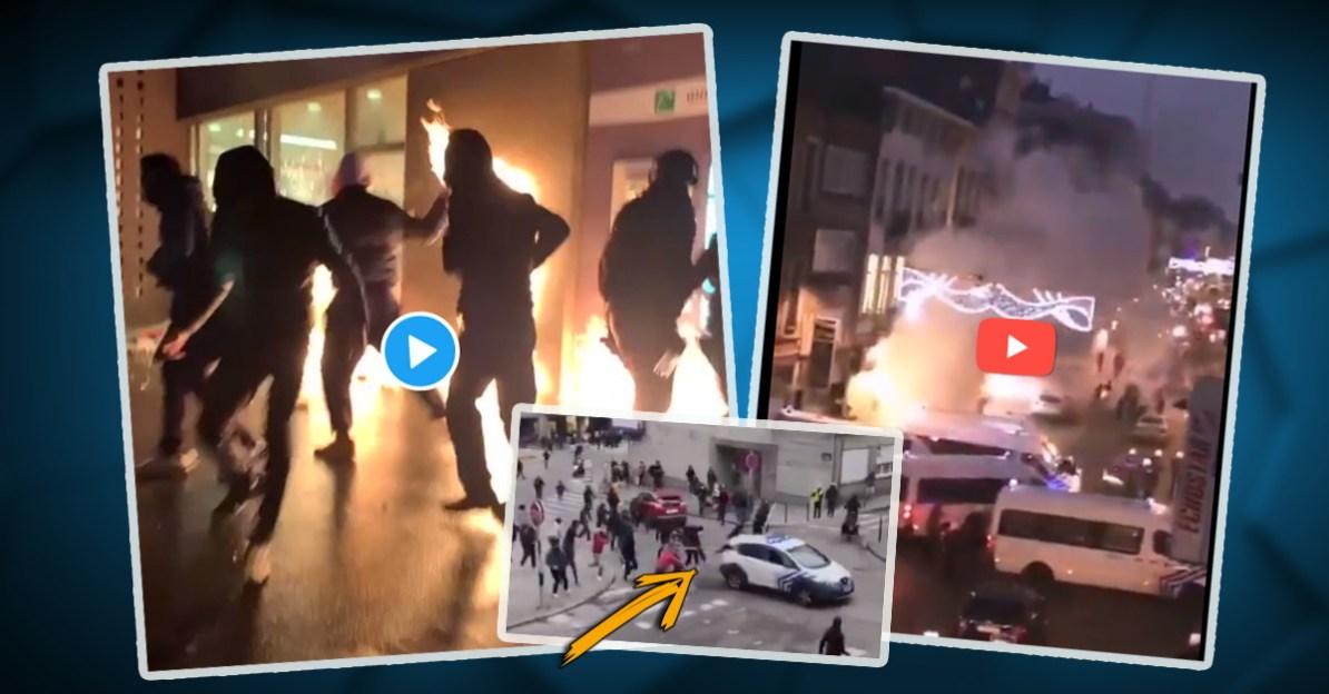 BLM 2021 in Brüssel: Ausschreitungen und Gewaltexplosion