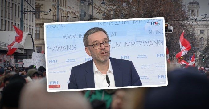 Kickl zuversichtlich: Demo am Sonntag in Wien wird stattfinden