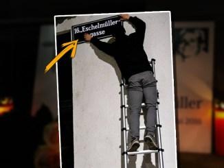 Offene Grenzen als Gefahr: Aktivisten erinnern mit Straßen-Umbenennung an Frauenmord