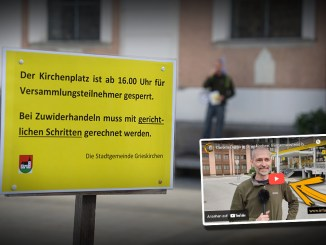 Corona-Demo in Grieskirchen: Bürgermeisterin bleibt uneinsichtig