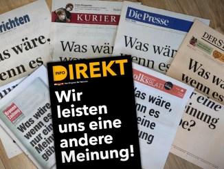 Was, wenn es tatsächlich nur noch eine Meinung in Österreich gäbe?