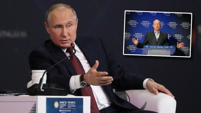 """Wladimir Putins """"SPIEF"""" als Gegengewicht zu Klaus Schwabs """"WEF"""""""