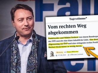 Haimbuchner-Berater Robert Willacker fordert von Kickl mehr Abgrenzung zur ÖVP