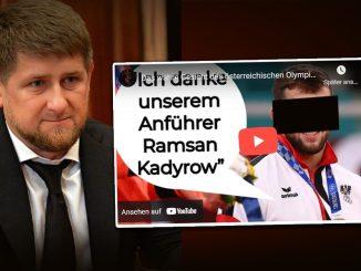 Österreichs Bronze-Sieger dankt Tschetschenen-Diktator vor dem er flüchtete