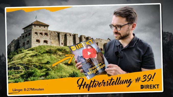 """""""Stoppt die Migration"""" - Vorstellung der 39. Ausgabe auf Burg Sümeg"""