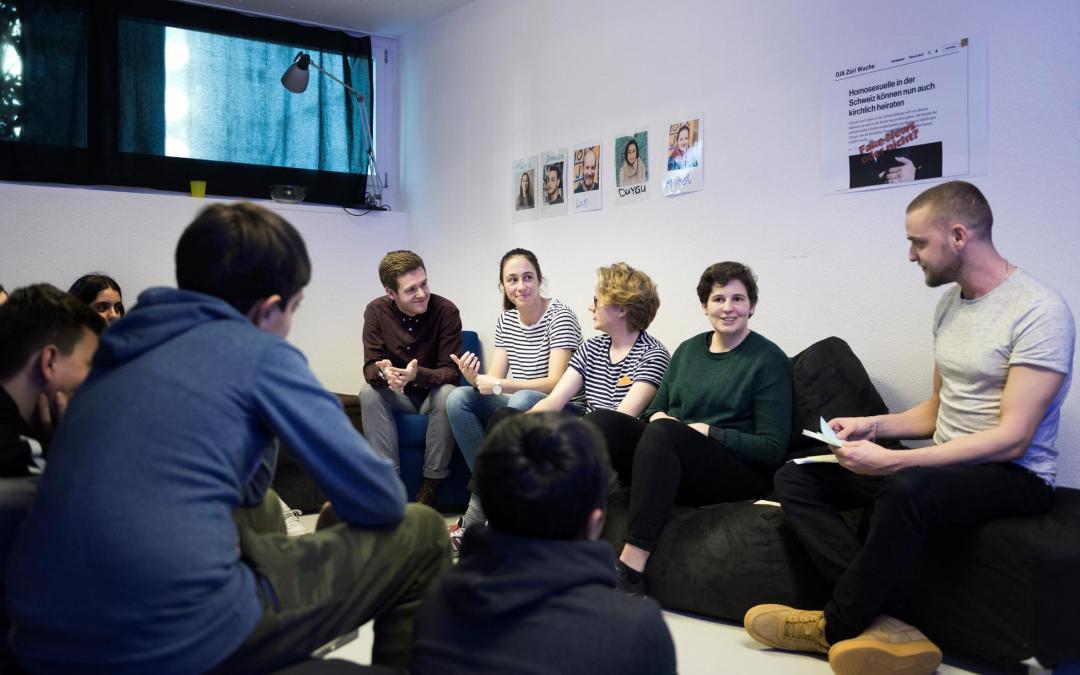 LIKEƎVERYONE: Ein Themenabend im Jugendladen Kreis 9