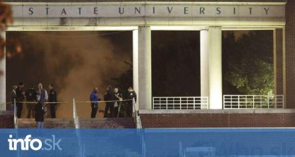 Na univerzite v Tennessee sa strieľalo, jeden človek ...