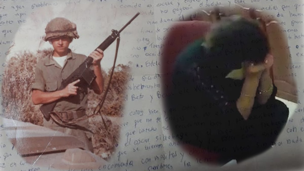 37 años después de la muerte de su hijo, recibió la única carta que le escribió en Malvinas