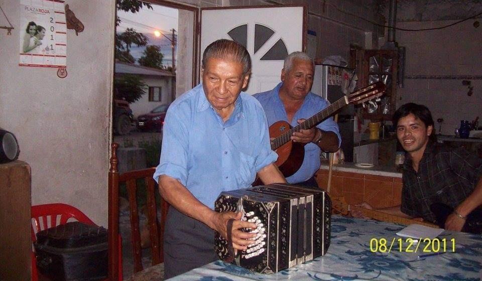"""El bandoneón llora la pérdida de Francisco """"El Maestro"""" Ríos"""