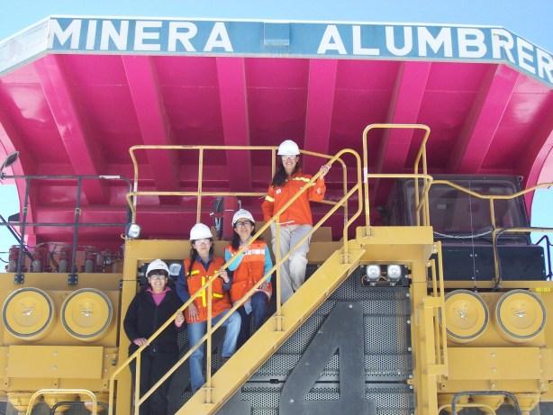 Camión Minero color rosa