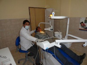 Minihopistal de Loro Huasi: nuevo equipamiento odontológico