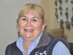 Azucena Solórzano trabaja hace 8 años en Minera Alumbrera