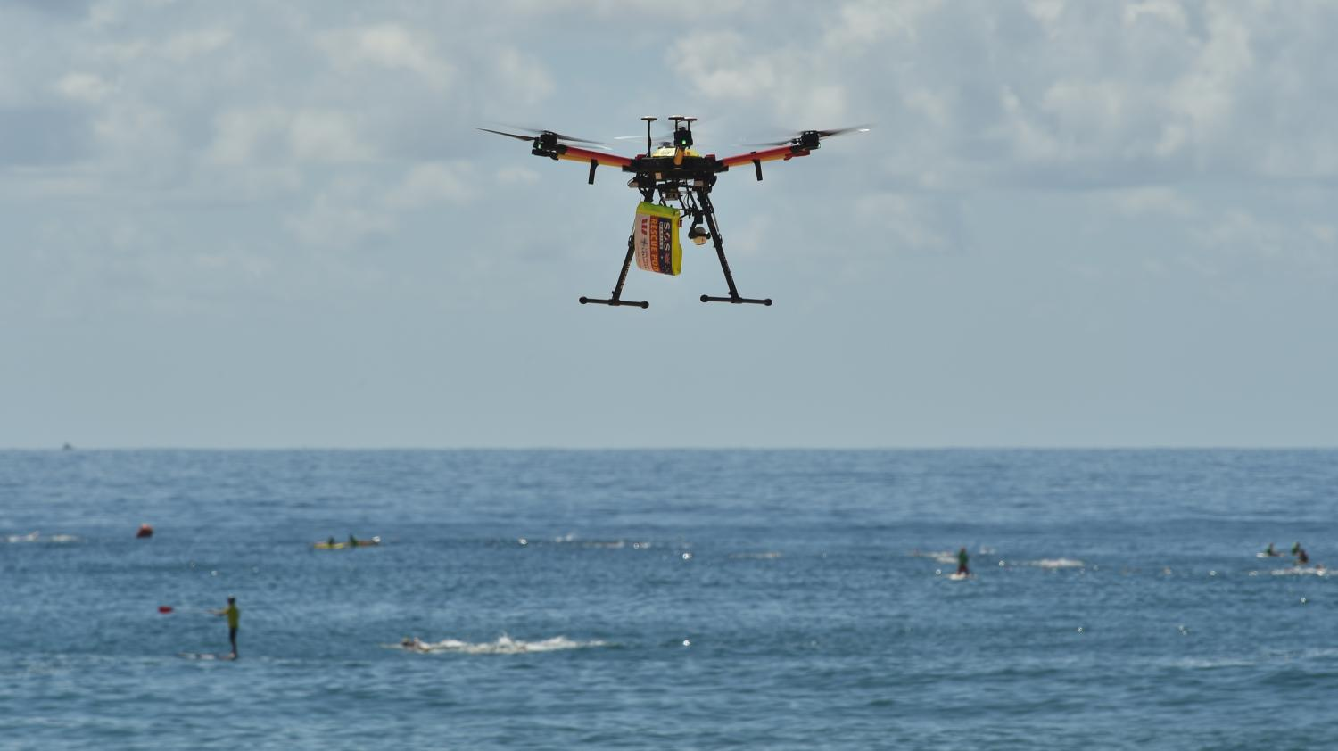 VIDEO. Australie : Des Nageurs Secourus En Mer Par Un Drone