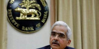 Shaktikanta Das, the Reserve Bank of India (RBI) Governor, attends a news conference in Mumbai, India, 12 December, 2018 (Photo: Reuters/Danish Siddiqui).