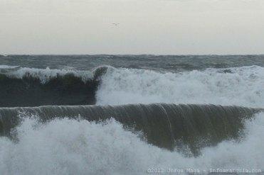 Stürmisches Wetter an der Costa del Sol