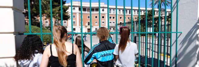 El estudiante llevaba poco tiempo matriculado en el instituto (Foto: Levante-EMV)