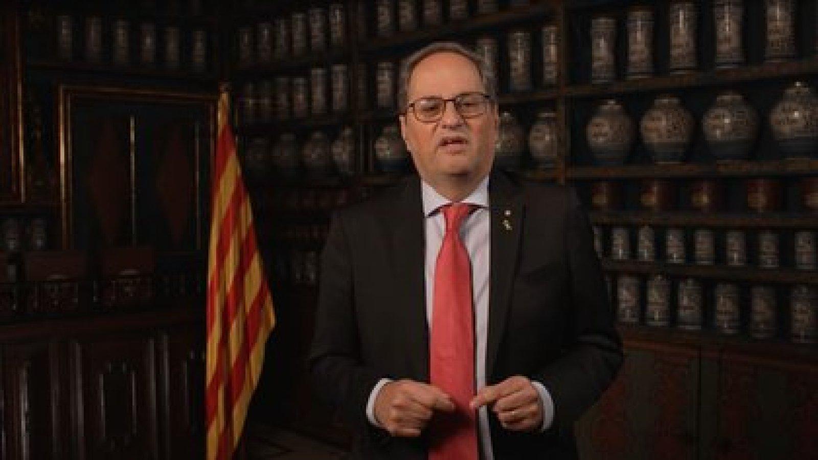 Quim Torra, ex presidente de la Generalidad de Cataluña (Europa Press)