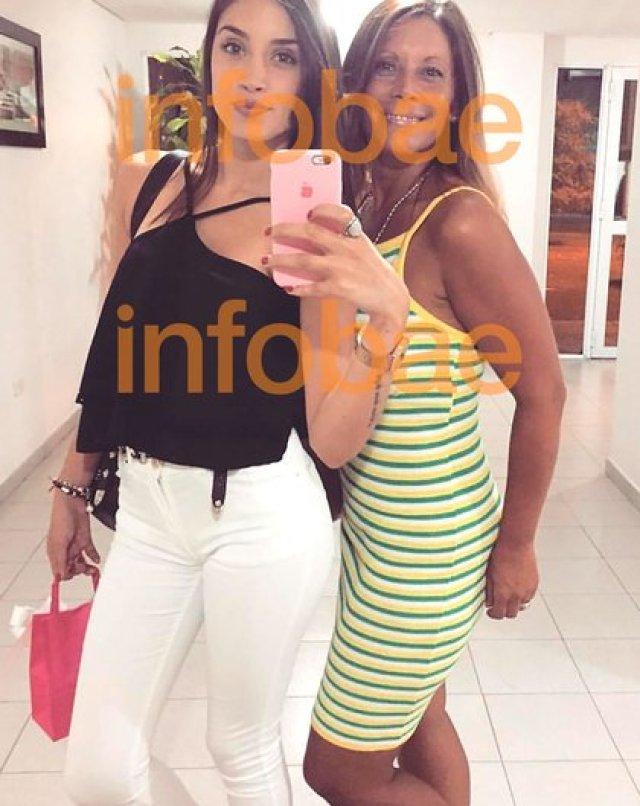Paula junto a su hija Antonella