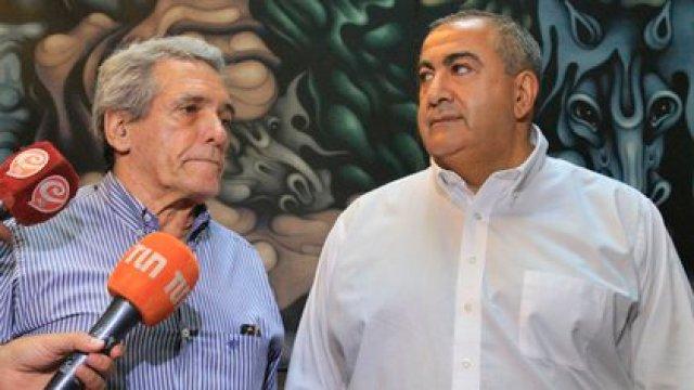 Carlos Acuña y Héctor Daer, cotitulares de la CGT