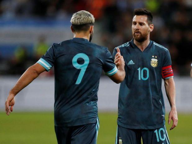 Sergio Agüero habló de Lionel Messi