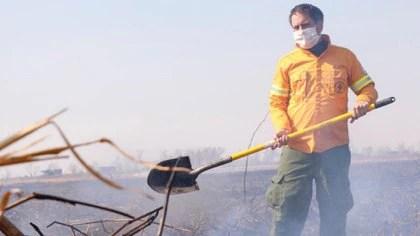 El ministro de Ambiente, Juan Cabandie, integra la autoridad de aplicación de la Ley Yolanda.