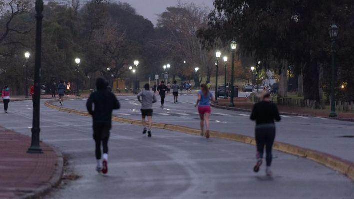 running en la ciudad - cuarentena - coronavirus - covid - 19 - palermo