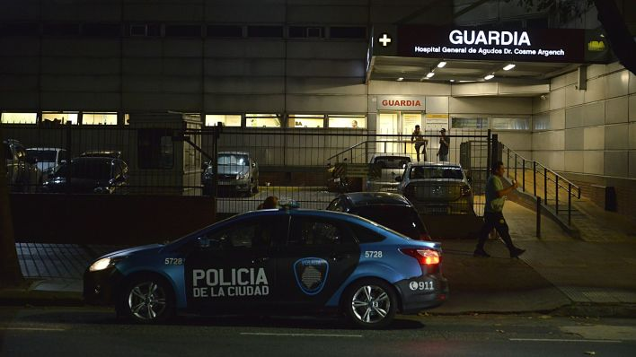 El sábado 7 de marzo por la mañana falleció en el Hospital Argerich el primer argentino por COVID-19 (Gustavo Gavotti)