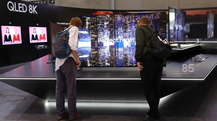 Presentación del QLED 8K (Reuters)
