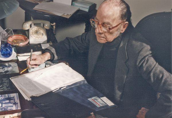 """Félix Luna, fundador de """"Todo es Historia"""" y director hasta 2009, cuando falleció"""