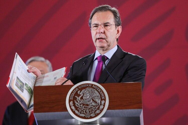 Esteban Moctezuma Barragán (FOTO: GALO CAÑAS /CUARTOSCURO)