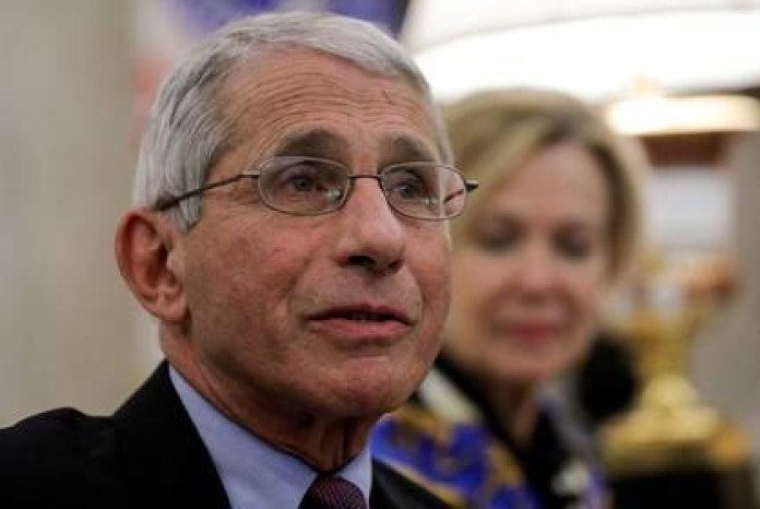 Anthony Fauci, epidemiologist at the White House (Reuters)