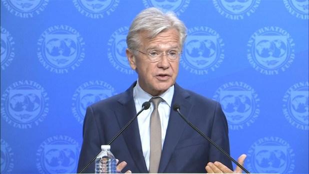 """Gerry Rice, vocero del FMI: """"El rol del FMI es apoyar las prioridades de Argentina"""""""