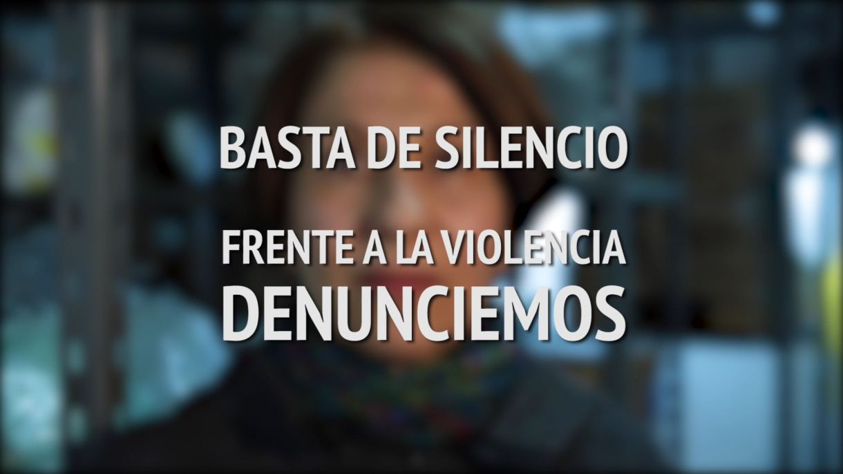 Una captura del video difundido tras la conferencia de Actrices Argentinas