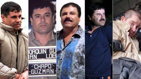 """La última recaptura de Joaquín """"El Chapo"""" Guzmán fue en 2016 y en enero de este año resultó extraditado a los Estados Unidos, donde espera juicio y nueva sentencia"""