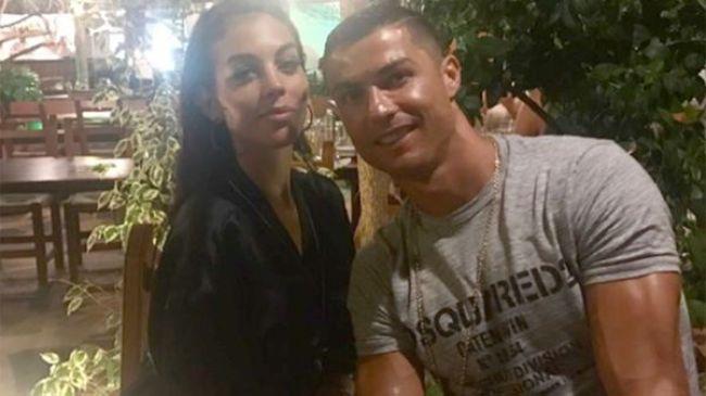 El futbolista Cristiano Ronaldo y su novia, la modelo Georgina Rodríguez