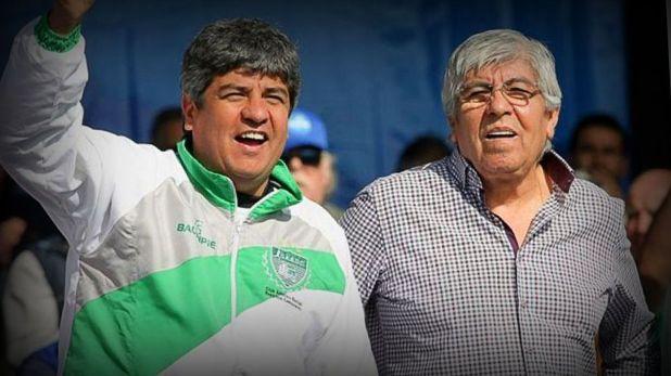 Pablo y Hugo Moyano