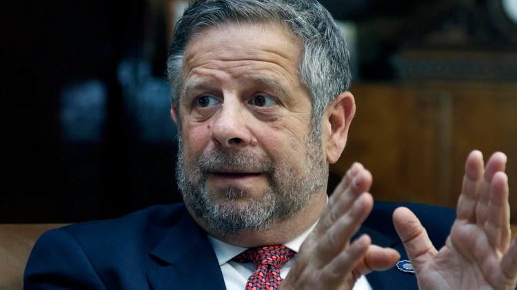 El secretario de Gobierno de Salud de la Argentina, Adolfo Rubinstein