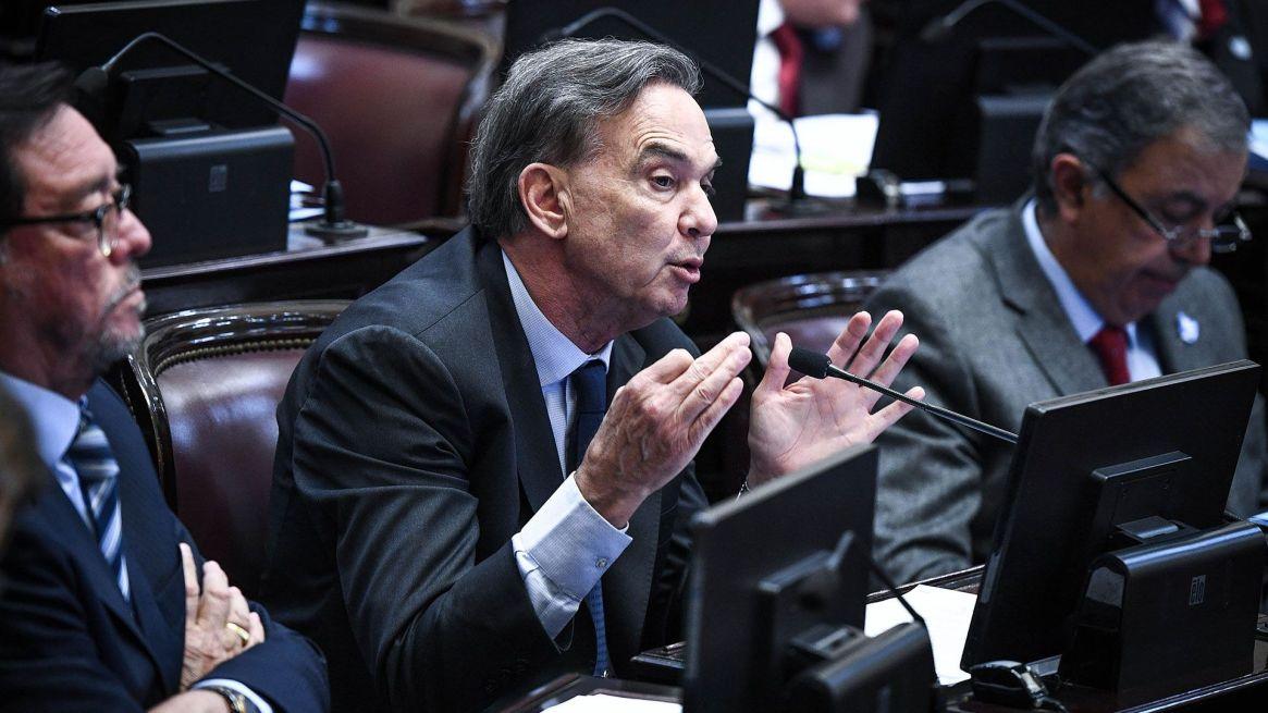 """El jefe del Bloque Justicialista, con """"voluntad política"""" de aprobar pliegos (Charly Diaz Azcue / Comunicacion Senado)"""