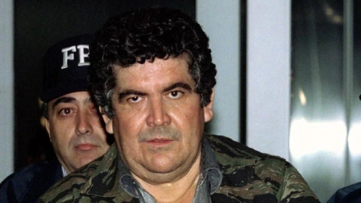 Juan García Ábrego, líder del Cártel del Golfo, durante su extradición a EEUU, un día después de su captura (Foto: Reuters)