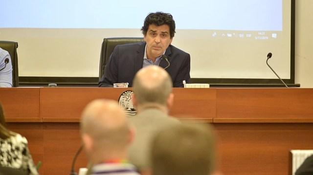 El juez Gonzalo Rúa a cargo del proceso (Gustavo Gavotti)