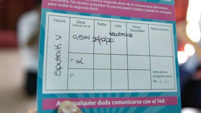 Ayer comenzó la vacunación en la Argentina (Adrián Escandar)