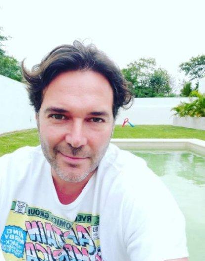 El actor falleció como una concecuencia del COVID-19 que contrajo a finales de enero pasado (Foto: Instagram de Rodrigo Mejía)