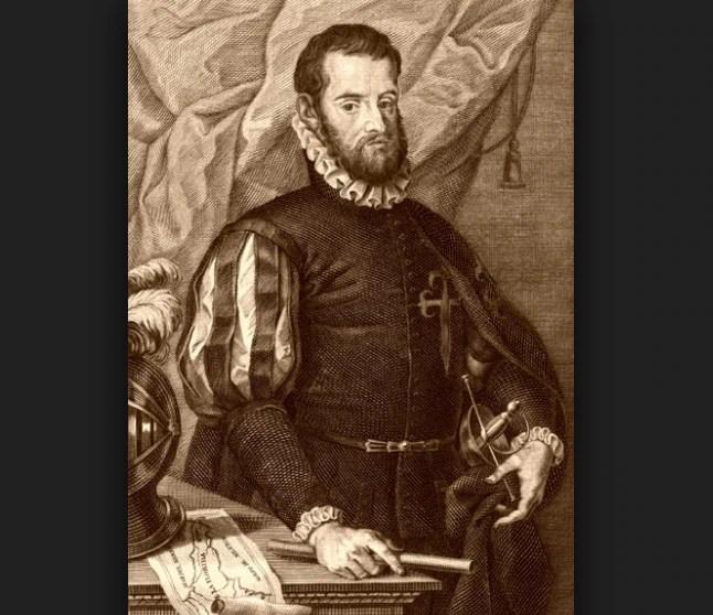 Tristán de Luna y Arellano fue un explorador y conquistador español