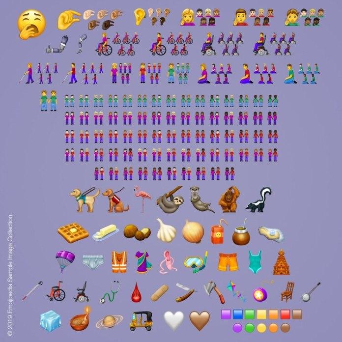 Los 230 nuevos emojis que fueron aprobados por Unicode para este año