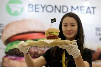 Beyond Meat es una empresa que produce alimento sustitutivo de la carne. REUTERS/Jason Lee