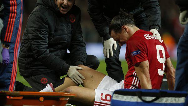 Ibrahimovic se lesionó ante el Anderlecht por la Europa League