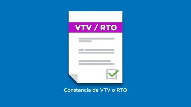 Hay que cumplir con la VTR o la RTO según la provincia