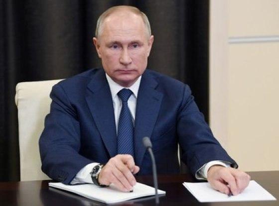 El presidente ruso, Vladimir Putin, and una videoconferencia, residencia de Novo-Ogaryovo, Rusia, December 4, 2020. Sputnik / Aleksey Nikolskyi / Kremlin via REUTERS