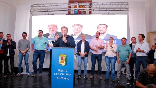 El Frente Justicialista Pampeano se impuso con el 52% de los votos (Télam)