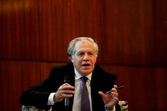 Luis Almagro, secretario general de la Organización de Estados Americanos (OEA) (EFE/ Bienvenido Velasco/Archivo)